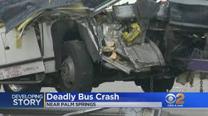 Palm Springs Bus Crash