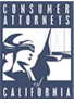 Consumer Attorneys of CA logo