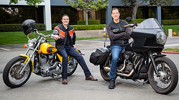 Attorneys with Motorcycles