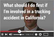 What-should-I-do-first-if-I'm-involved-in-a-trucking-accident
