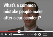 What's-a-common-mistake-people-make-after-a-car-accident
