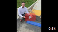 Removing Cement Blocks from Parking Spots - Tripping Hazard
