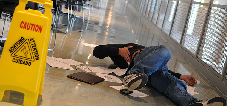 Is the store liable for your slip and fall injury