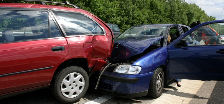 What are the most common types of car accidents