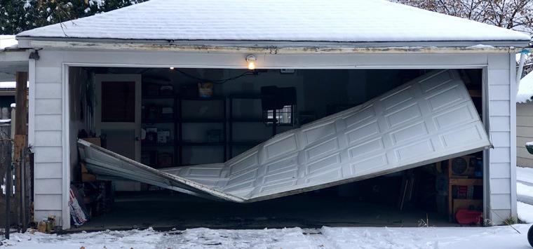 Garage door accident injuries and deaths